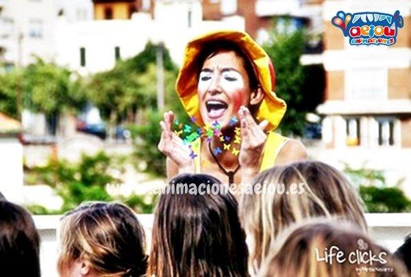 animadores, magos y payasos en Colmenarejo