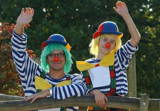 Busco payasos para fiestas infantiles en madrid-padre e hijo