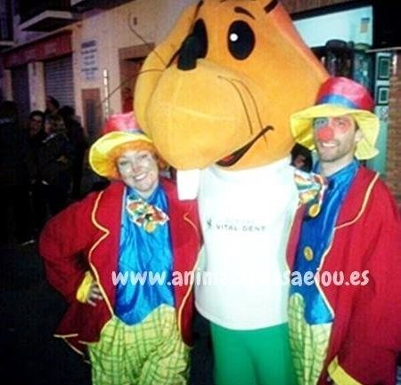 Payasos para fiestas infantiles en Madrid